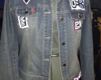 Upcycled Jean Jacket