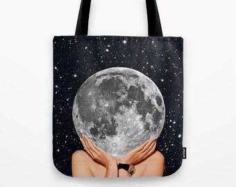Moon tote bag - Tote bags