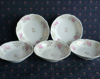 Carl Tielsch (CT) Berry/Fruit Bowls (5); made in Germany