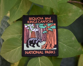 Sequoia and Kings Canyon National Park Patch