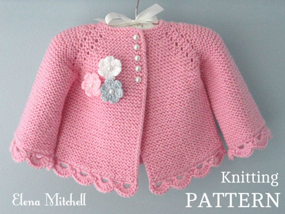 baby cardigans knitting patterns