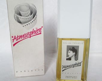 "French Vintage Perfum ""Atmosphère"" of the French Actress ARLETTY - 1989"