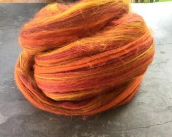 SALE custom blend fibre GINGER SNAPS 200 Grams