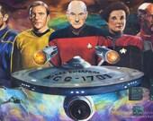 Star Trek Captains ART PR...