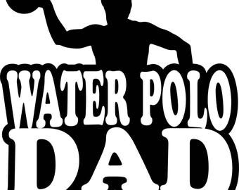 Water Polo Dad T Shirt/ Water Polo Dad Shirt/ Water Polo Dad Clothing/ Water Polo Dad Gift/ Water Polo Dad/ Water Polo/