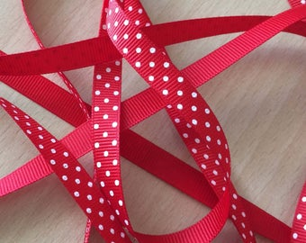 pretty Ribbon grosgrain red 306