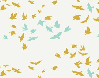 Registry Item for Shawna Taylor - CRIB Sheet - Aves Chatter in Reverie - by Art Gallery Fabrics