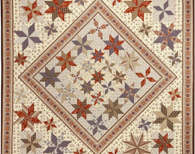 Sturbridge Stars - Quilt Pattern and Template Set