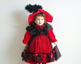 Samantha Collection, Samantha Medici 1998 Ltd Ed Fine Porcelain Doll American Girl Limited Edition Trademarked