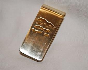 Brass Blue Ridge Mountain Money Clip