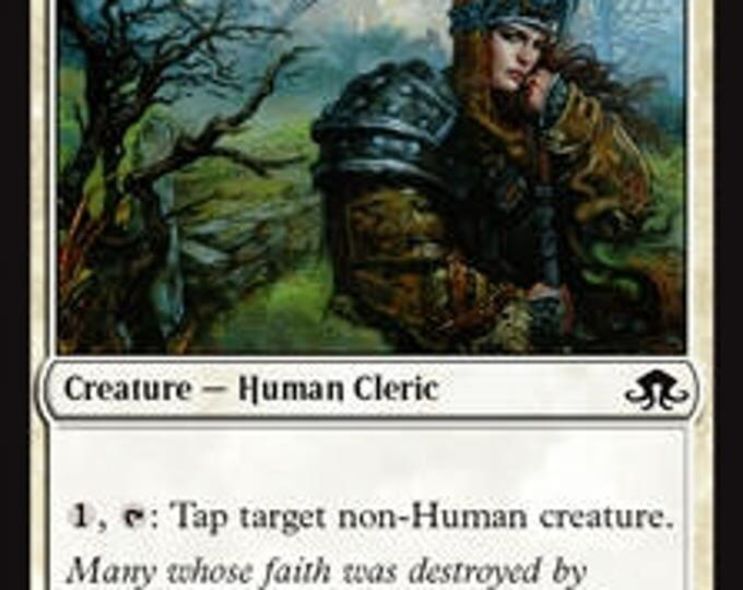 Sigardian Priest - Creature/Human Cleric - Eldritch Moon - Magic the Gathering