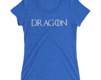 Dragon Ladies' short sleeve t-shirt