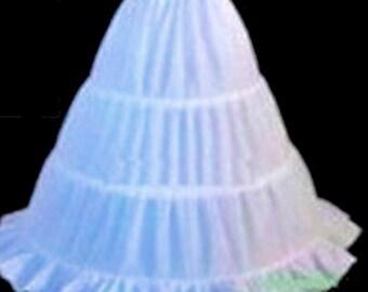 Civil War Reenactment Girls Toddler (Ball Gown) Hoop Petticoat