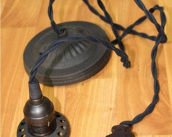 """Wiring and Cord for 2 1/4"""" Fitter Size Pendant Light Fixture"""