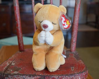 TY Beanie Babies HOPE Bear-Praying Bear