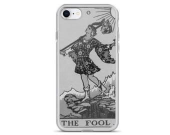 THE FOOL Tarot Card iPhone 7/8 , 7/8 Plus , iPhone X Case