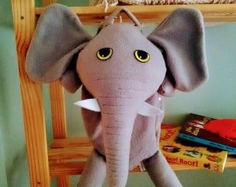 Elephant Pyjama Bag, Case, Unique, Gift.