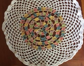 Vintage Hand Crochet Doily