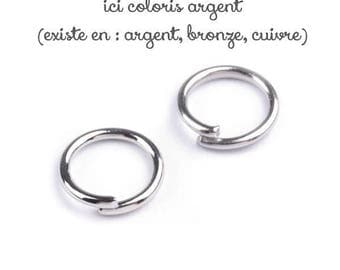 30 g silver 6 mm for jewelry jump rings