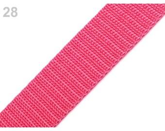 28 - Strap 30 mm bright pink polypropylene