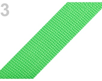 3 - Strap Green 30 mm polypropylene