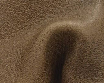 "NZ Deer Sale Leather New Zealand Deerskin Hide 4"" x 6"" Portabello Brown 3 1/2-4 oz TA-54648 (Sec 3,Shelf 5,A,Box 3)"