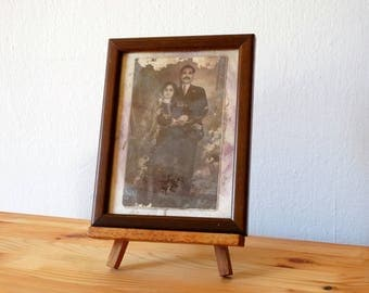 Couple Portrait, Old Photo Portrait, Antique Framed Portrait, Old Framed Photography, Framed Photo, Couple Framed Photo, Antique Photograph