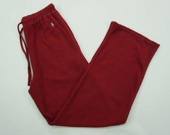 """Polo Ralph Lauren Pants Vintage Polo Ralph Lauren Track Pants Women's Size 28-33"""""""
