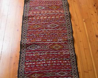 handwoven moroccan runner rug