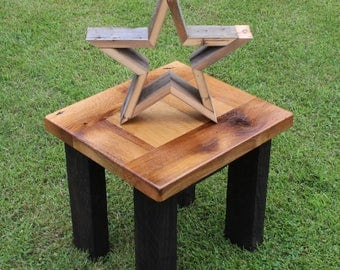 Reclaimed Barnwood Star