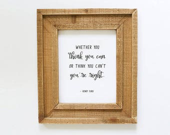 Printable Henry Ford Quote