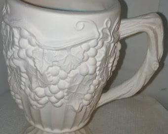 Grape Pedestal Mug