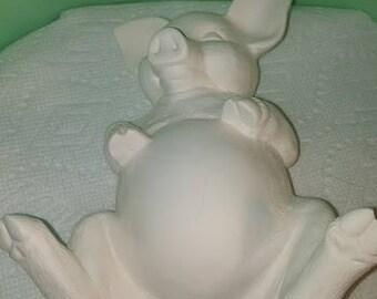 Pig on Back