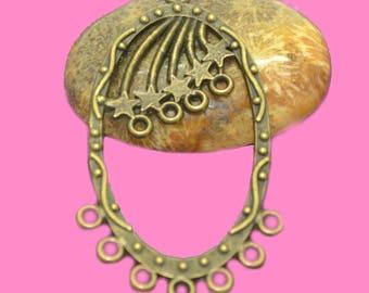 chandeliers connectors 52x22mm Bronze Star