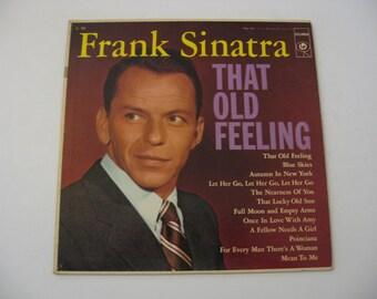 Frank Sinatra - That Old Feeling - Circa 1956