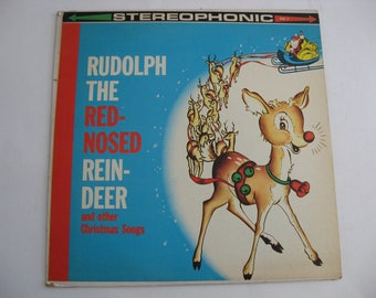 Roy Scott Chorus and Orchestra - Rudolph The Red Nosed Reindeer - Circa 1960's