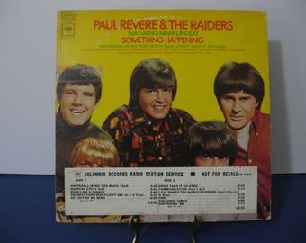 Paul Revere & The Raiders -Something Happening - Promo Copy! - Circa 1968
