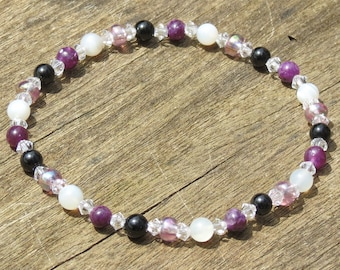 Girl's Childhood Survival Bracelet or Necklace for Protection, Courage, Strength, Concentration, Confidence, Calm and Alleviates Nightmares!