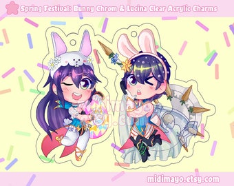 Bunny Spring Festival Fire Emblem Heroes 2in Acrylic Charms