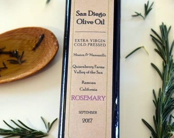 Rosemary Fused Olive Oil 250ml, Free Shipping!