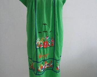 vintage Nicaragua dress