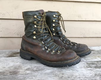Men's 6-6.5 1960s hiking boots