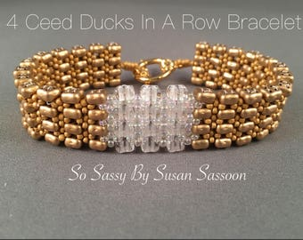 4Ceed Ducks in a Row Bracelet Tutorial