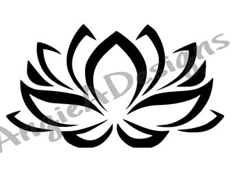 Lotus Flower SVG