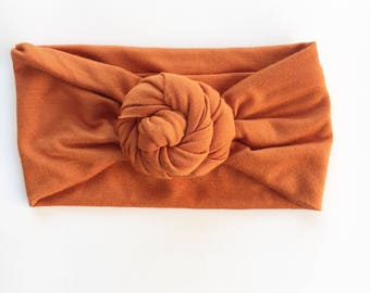 Copper top Knot FitchBand