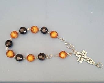 B & B Rosary bracelet