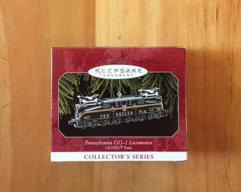 Hallmark Keepsake Ornament, Pennsylvania GG-1 Locomotive, Lionel, 1998, Handcrafted, Train, Christmas/Holiday Decoration, Collectable
