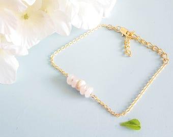 "Bracelet ""Lucia"" sterlinge silver and Agate"