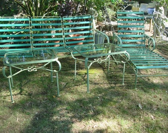 antique metal outdoor furniture/antique metal outdoor ornate table / vintage metal patio table/  outdoor  lawn  table/ coffee table