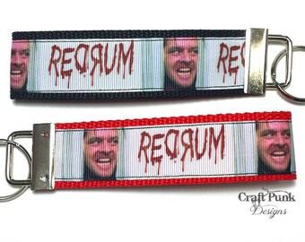 The Shining Keychain, Redrum, Keychain, Overlook Hotel, Stephen King, Horror, Gift, Horror Accessories